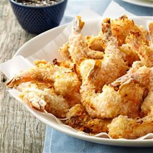 Baked Coconut Shrimp & Apricot Sauce Recipe