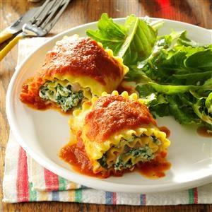 Baked Lasagna Roll Ups Recipe