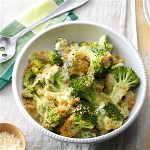 Baked Parmesan Broccoli Recipe