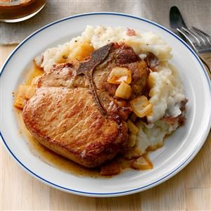 Baked Saucy Pork Chops Recipe