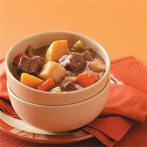 Baked Stew with Root Vegetables