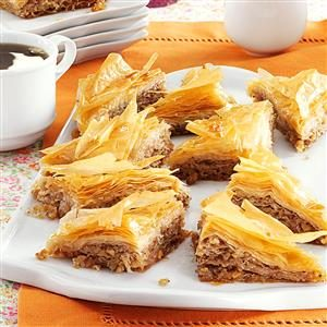 Baklava with Honey Syrup Recipe