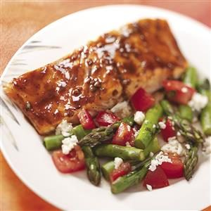 Balsamic-Glazed Salmon Recipe