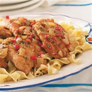 Balsamic Pork Scallopine Recipe