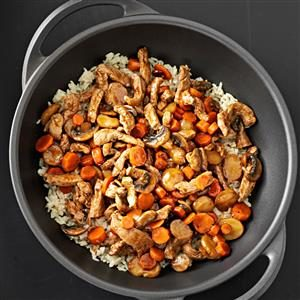 Balsamic Pork Stir-Fry Recipe