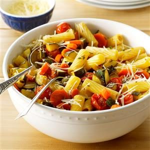 Balsamic Roasted Vegetable Primavera