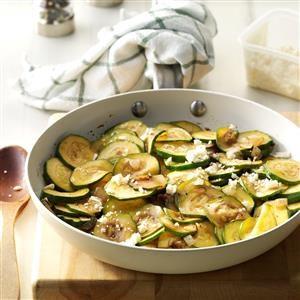 Balsamic Zucchini Saute Recipe