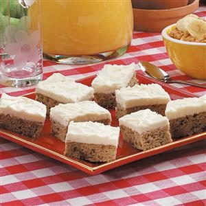 Banana Nut Bars Recipe
