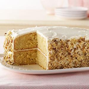 Banana-Sour Cream Cake Recipe