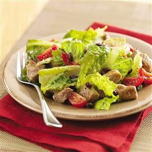 Barbecue-Pork Salad Recipe