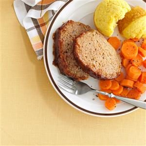 Barbecue Turkey Meat Loaf Recipe