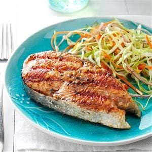 Barbecued Alaskan Salmon