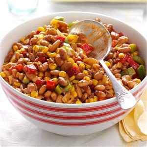 Barbecued Bean Salad Recipe