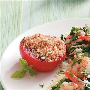 Basil Baked Tomatoes Recipe