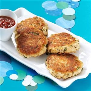 Basil Crab Cakes Recipe