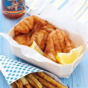 Batter-Up Walleye Recipe