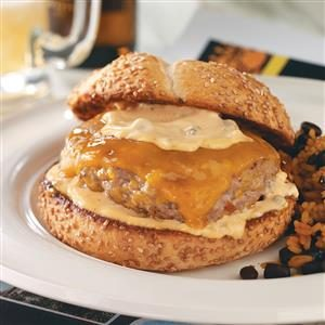 Bayou Burgers with Spicy Remoulade Recipe