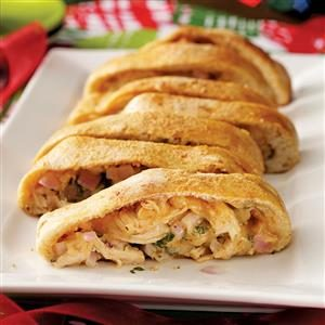 BBQ Chicken Pizza Roll-Up