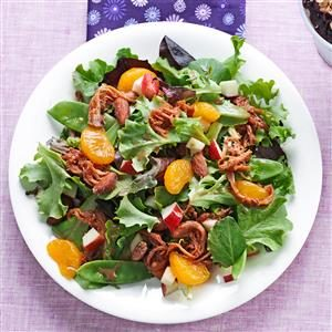 BBQ Pork Salad Recipe