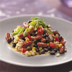 Bean &  Barley Salad Recipe
