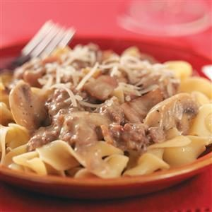 Beef & Bacon Stroganoff Recipe