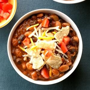 Beef and Bean Taco Chili Recipe