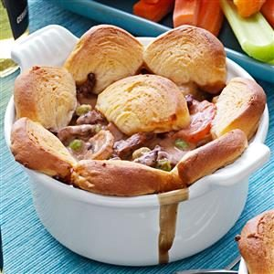 Beef and Mushroom Potpies