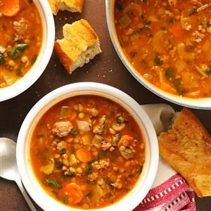 Beef Lentil Soup Recipe