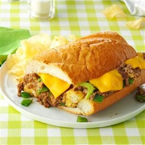 Beef-Stuffed French Bread Recipe