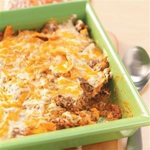 Beef Tortilla Casserole Recipe