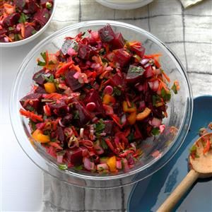 Beet Salad with Lemon Dressing