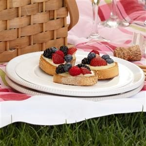 Berry Almond Bruschetta Recipe