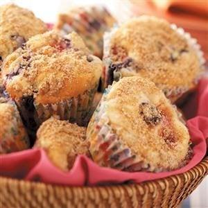 Berry Cheesecake Muffins Recipe