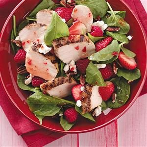 Berry Chicken Salad for Two Recipe