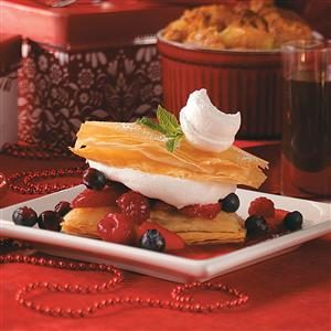 Berry Napoleons Recipe