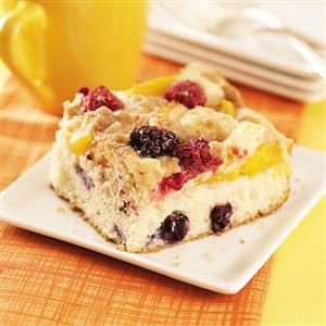 Berry Nectarine Buckle Recipe