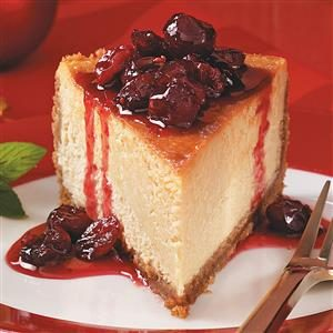 Best Maple-Cranberry Cheesecake Recipe