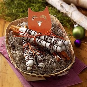 Birch Pretzel Logs