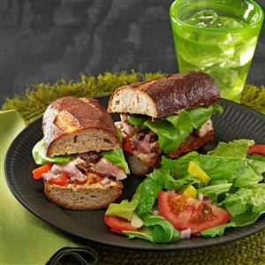 Bistro Tuna Sandwiches Recipe