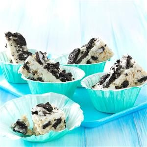 Black & White Cereal Treats