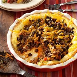 Black Bean Tamale Pie Recipe