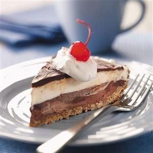 Black-Bottom Ice Cream Pie Recipe