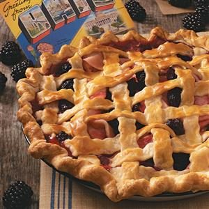 Blackberry Apple Pie