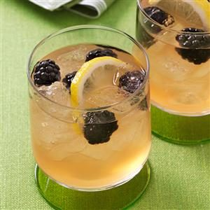 Blackberry Beer Cocktail