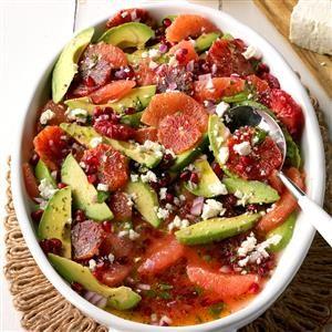 Blood Orange Avocado Salad Recipe