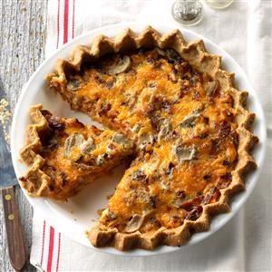 BLT Brunch Pie Recipe