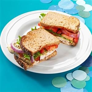 BLT Catfish Sandwiches Recipe