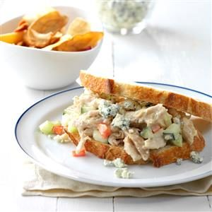 Blue Cheese Chicken Salad Sandwiches Recipe