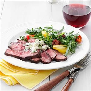 Blue Cheese Flat Iron Steak Recipe