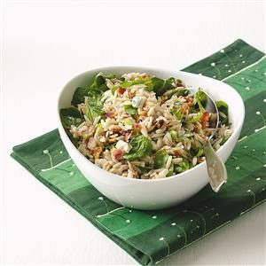Blue Cheese Orzo Salad